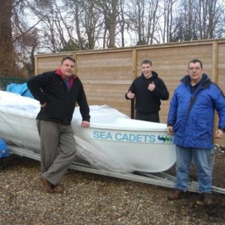 Mildenhall take delivery of their new boat