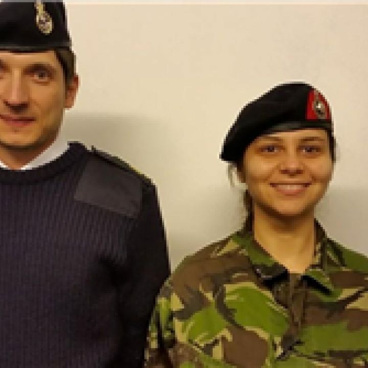 INSTRUCTOR PROMOTIONS AT WHITLEY BAY SEA CADETS