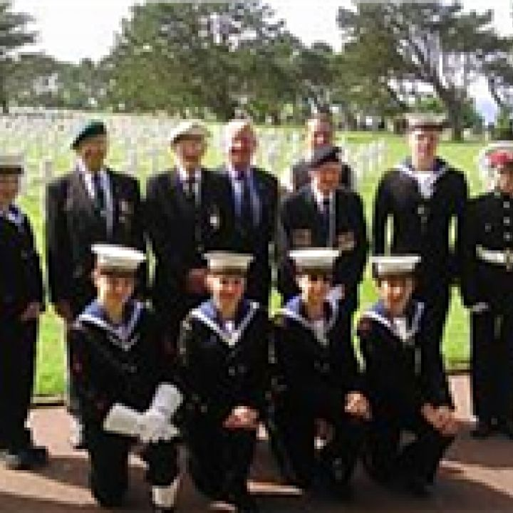 Evesham Sea Cadets land on Normandy Beaches