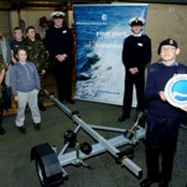 Milford Haven Port Authority Support Sea Cadets!
