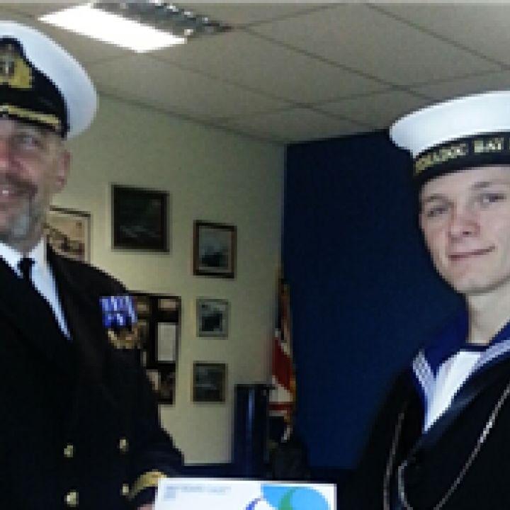 POC Saunders- Navy Board Cadet