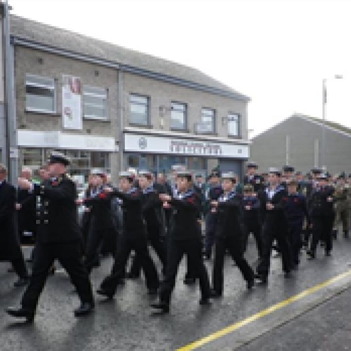 Lisburn Sea Cadets Remembers 'the Fallen'