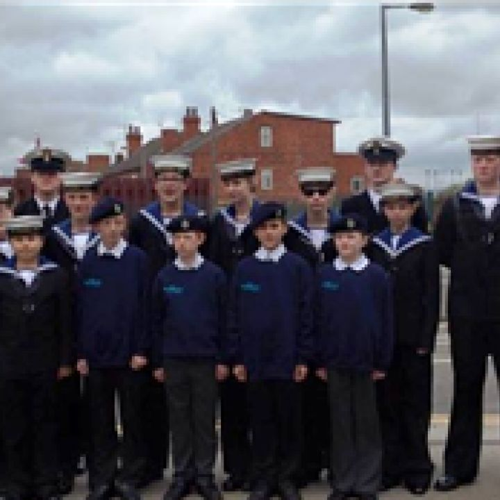 Cadets Mark 1940's Weekend & 70th VE Day...