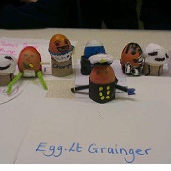 Eggs away....