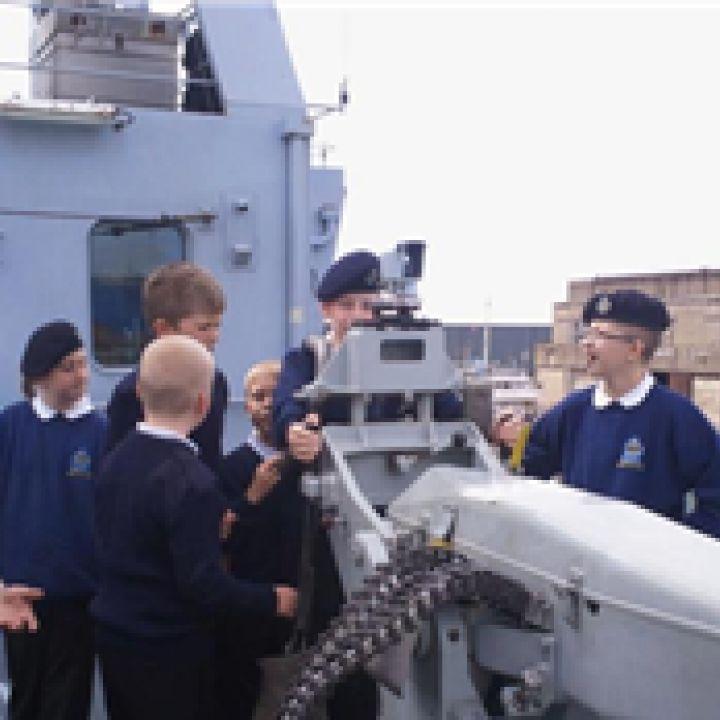 Ships Visit- HMS Enterprise 21 July 2012