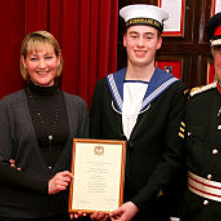 London Sea Cadet appointed Lord Lieutenants Cadet