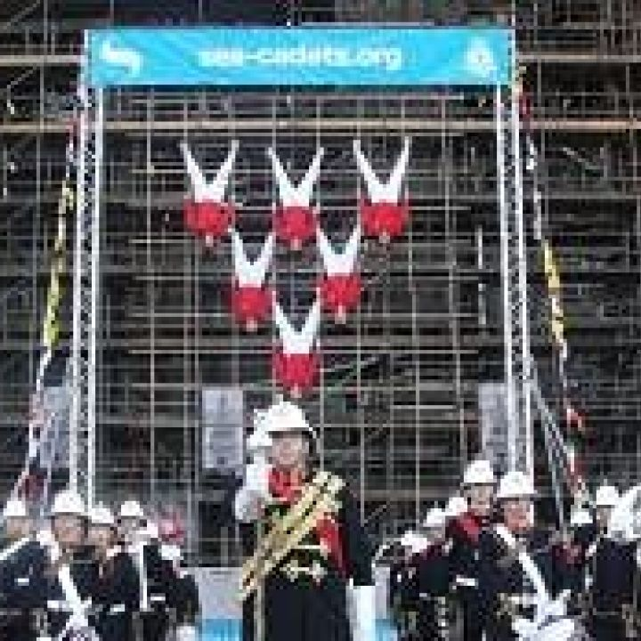Sea Cadets launch new Royal Navy ship