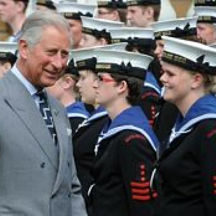 Sea Cadets celebrate Cadet150 with Royal Review