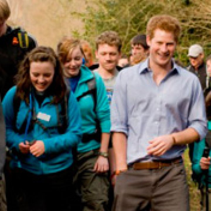 Prince Harry Springs Surprise Visit on Cadets
