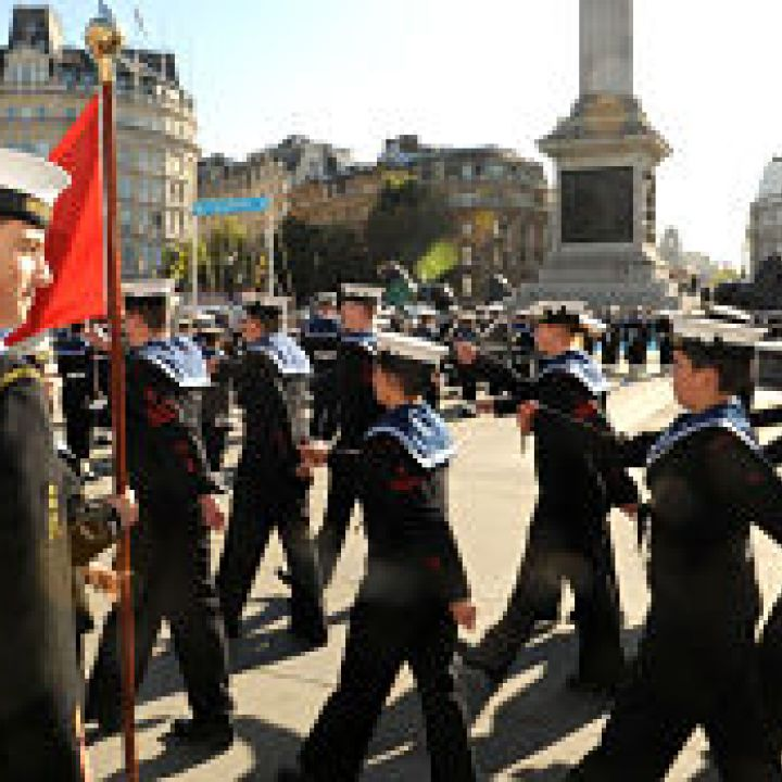Trafalgar Day Parade, London