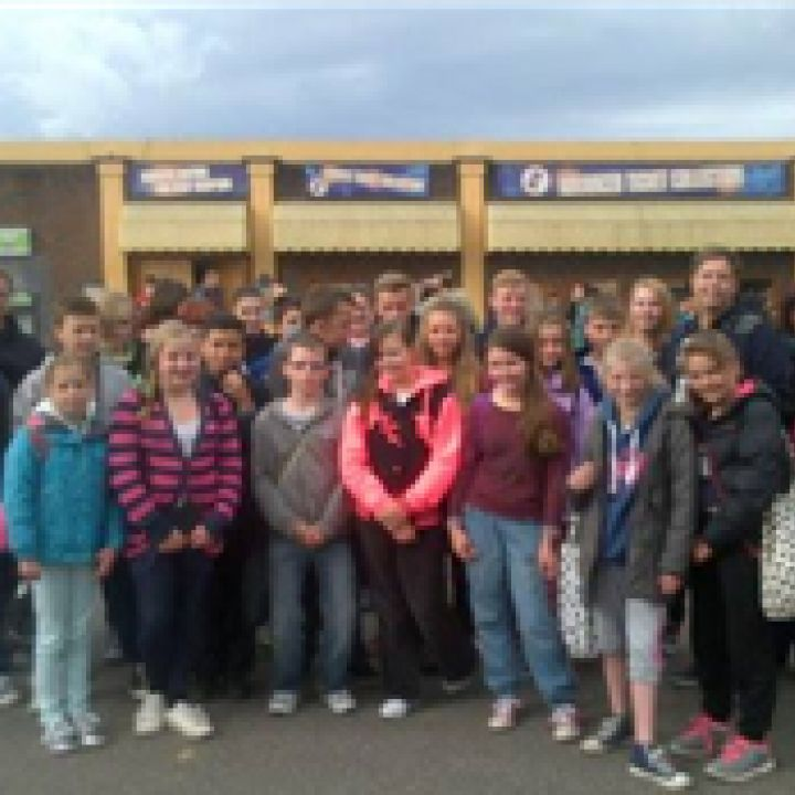 Cadets rewarded with trip to Thorpe Park