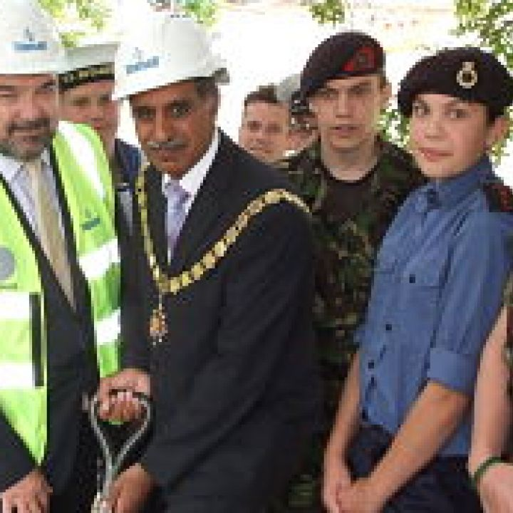 Woking Sea Cadets break new ground