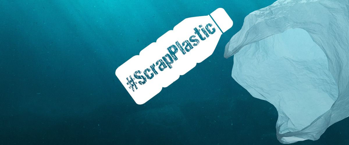 Are you on board our #ScrapPlastic Challenge?