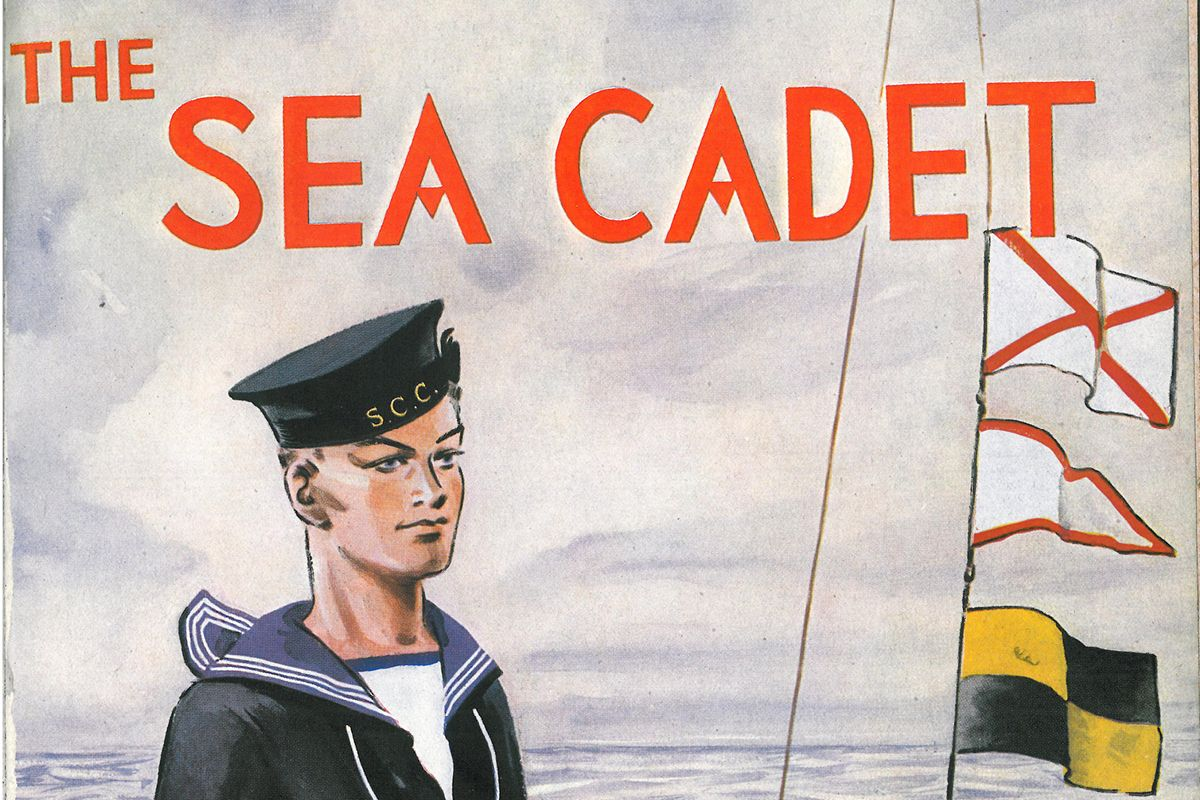 A Sea Cadet illustrated advert from 1940