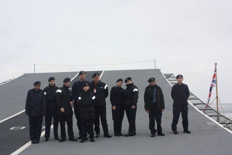 Visit to HMS Queen Elizabeth