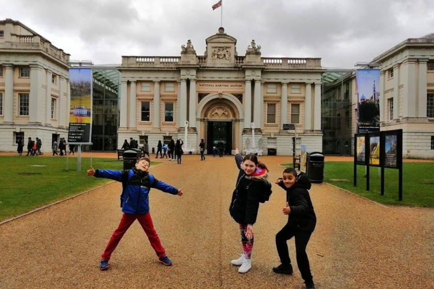 Junior visit to the National Maritime Museum